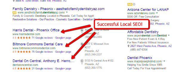 successful local seo